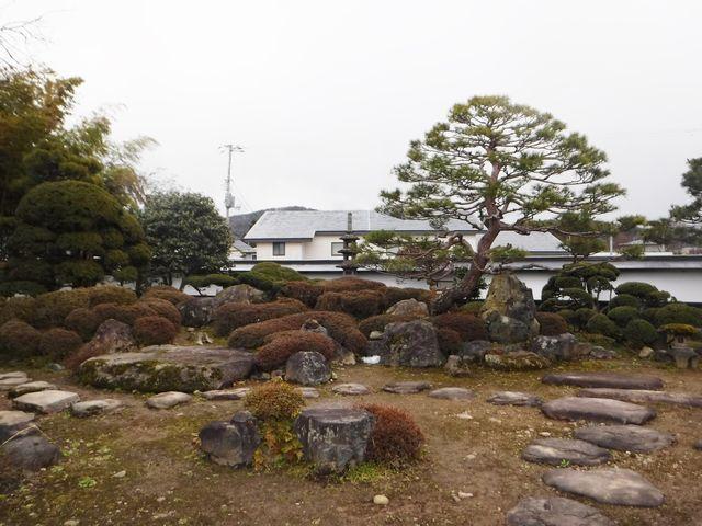 東根市Y様邸の庭園改修工事。