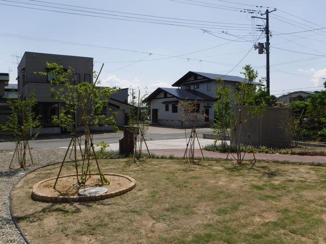 新庄市のK様邸のガーデニング。