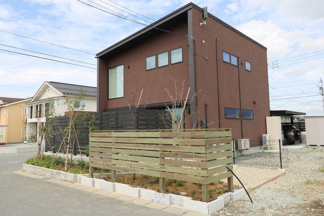東根市S様邸のガーデニングが完成しました。