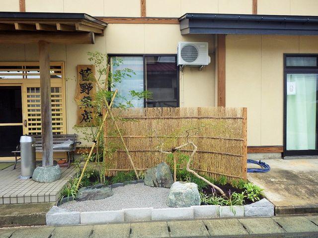 菅野魚店さんの作庭工事が完了しました。
