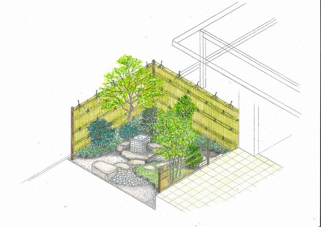 山形市S様邸の茶庭を造っていきます。≪其の一≫