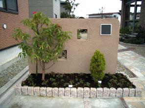 コンクリートブロック積+美ブロ仕上