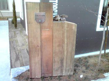オリジナル門柱